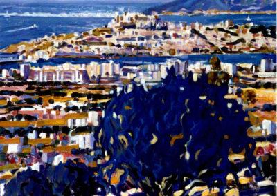 250 Panoramica de Ibiza 73 x 92